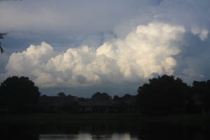 Clouds ove Eagle Lake